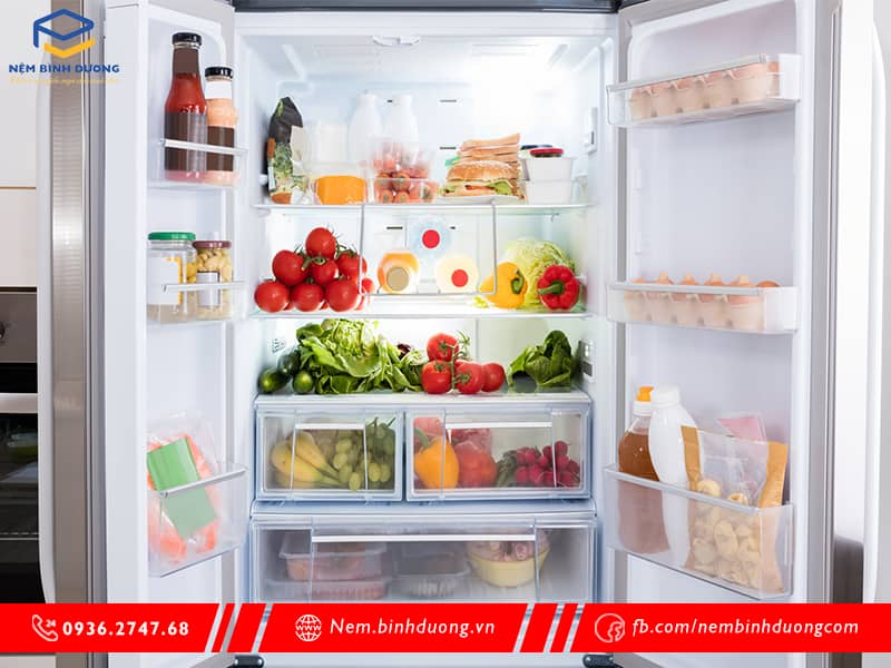 Hướng dẫn bảo quản thức ăn trong tủ lạnh - Nệm Bình Dương