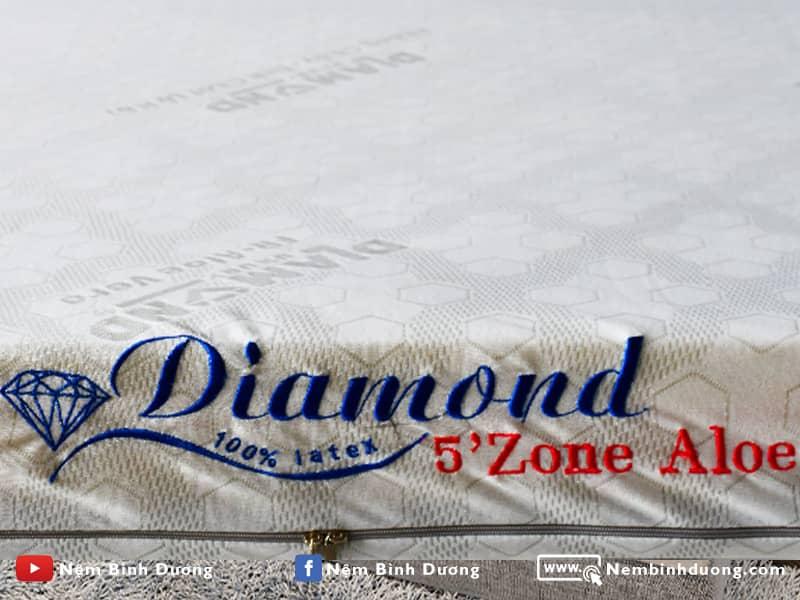 Nệm cao su Kim Cương 5'Zone - Nệm Bình Dương