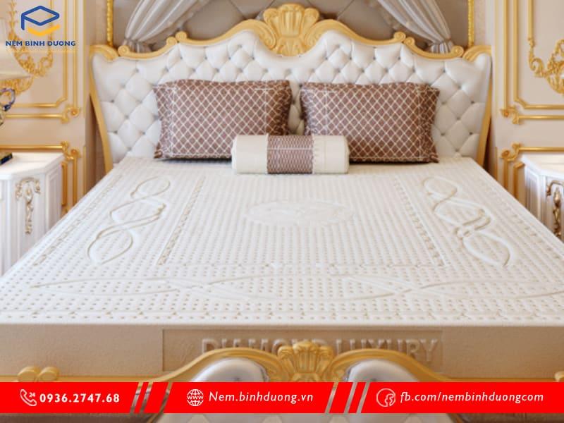 Nệm cao su Kim Cương Diamond Luxury - Nệm Bình Dương