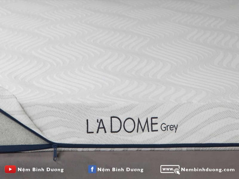 Nệm cao su Liên Á L'A Dome Grey
