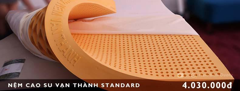 Nệm cao su Vạn Thành Standard - Nệm Bình Dương