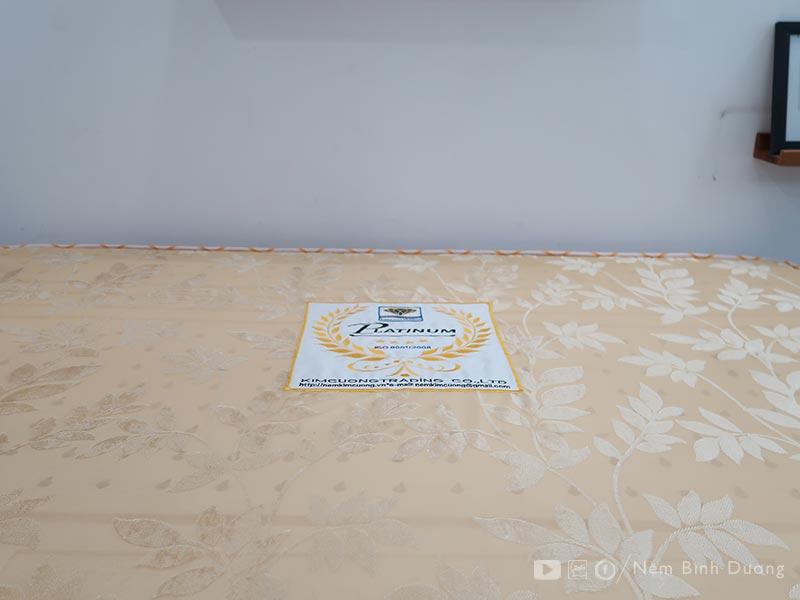 Nệm lò xo túi Kim Cương Platinum - Nệm Bình Dương